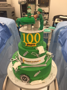100 Years Cake Photo - Swedish Institute - New York, NY
