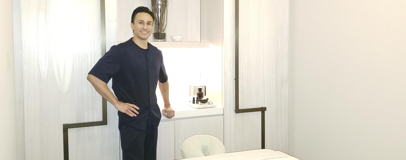 Victor Male Massage Therapist - Swedish Institute - New York, NY