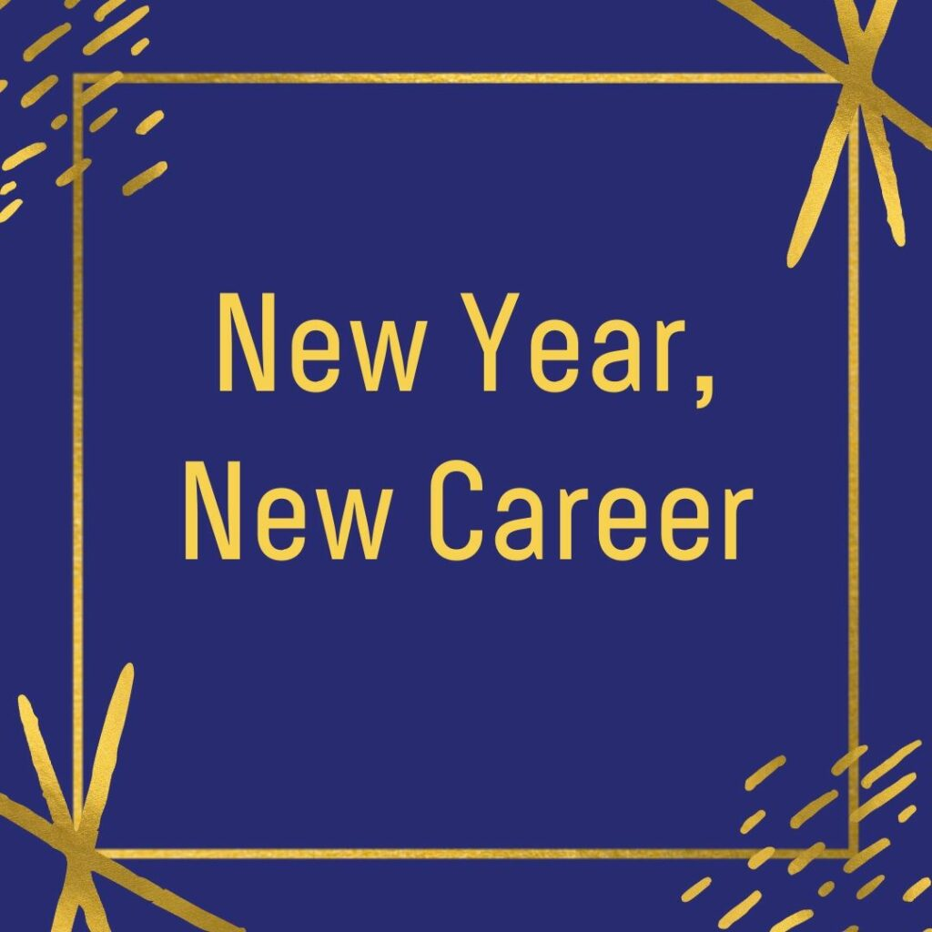 New Year, New Career